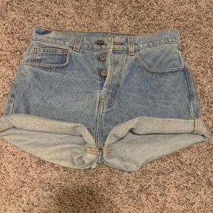 Brandy Melville Jean Shorts - Size S